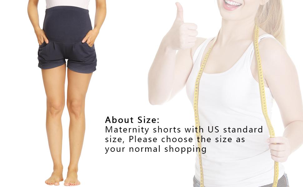 maternity yoga shorts workout shorts