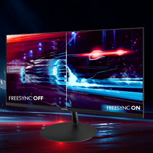 Activate AMD FreeSync and minimize screen tears, display stutter and image distortion