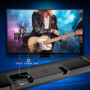 multi connected sound bar