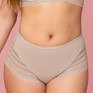 leonisa, high waist, thong, panty