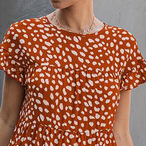 dress for women orange