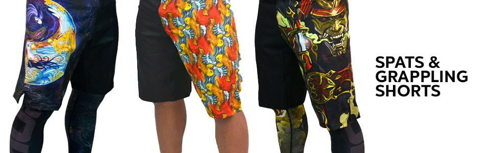 Spats and Grappling Shorts
