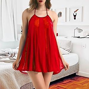 sexy baby dolls nightwear for women