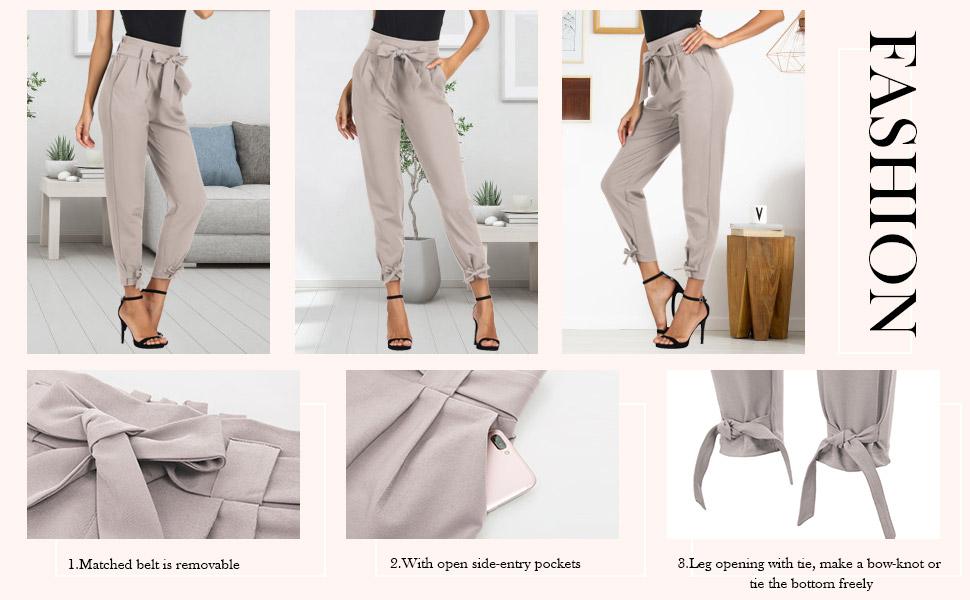 pantaloni donna elegante