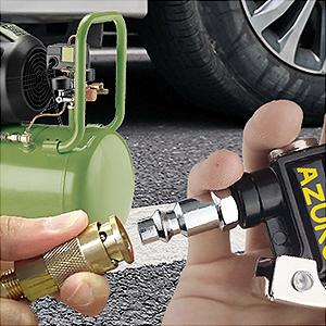 Tire Inflator with Presure Gauge A2.7