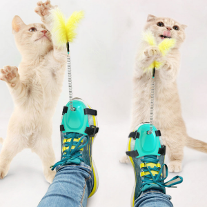 Cat Stick Feather Toy