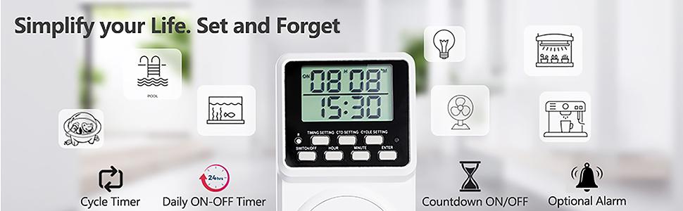 multifunctional timer