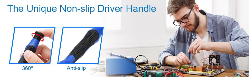 80 in 1 Professional Toolkit, anti slip, driver handle, tablet repair, smartphone repair, mmobiel