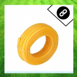 Flexible 0.5 inch and 10 Mt Long Garden Water/PVC/Car and Bike Wash Pipe with Hose Connector (Yellow