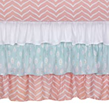 Sweet Owl Dreams Crib Skirt