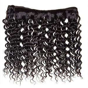 10A Brazilian Deep Wave Human Hair Bundles