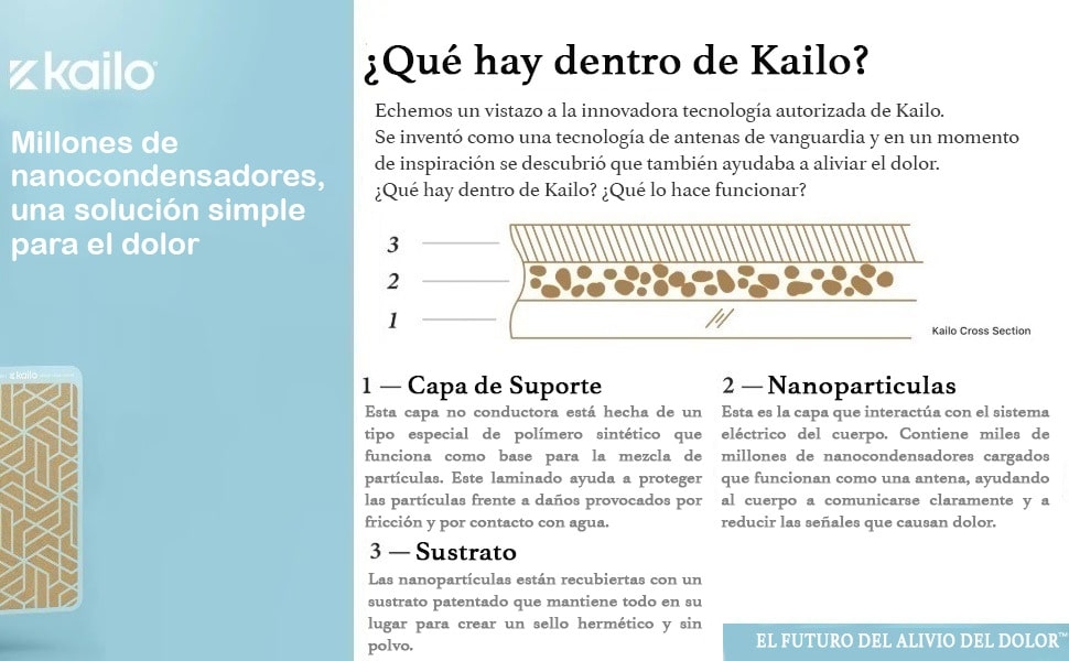 Paquete de 10 adhesivos de Kailo (10 adhesivos de silicona para su Kailo)