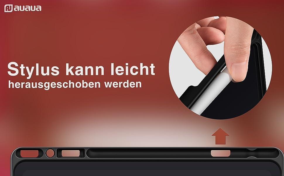 iPad 10.2 hoes met penhouder