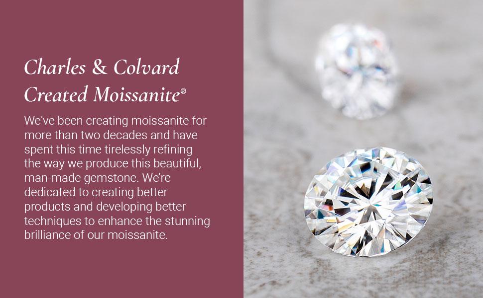 Charles & Colvard Created Moissanite