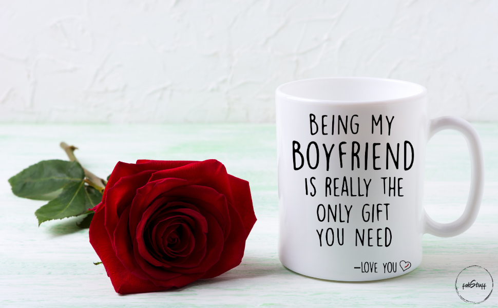 Funny Quote Coffee Mug Gift for Boyfriend