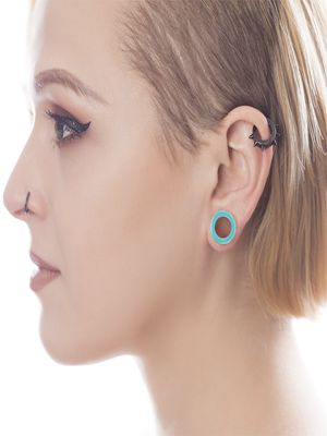 silicone tunnels for ear