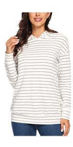 nursing tops breastfeeding sweatshirts zip pullover hoodie