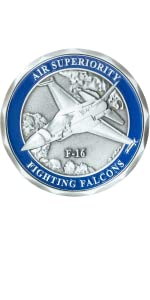 Air ForceC-130 Hercules Transport AircraftMilitary Challenge Coin U.S