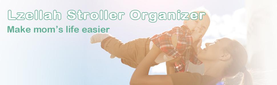 Lzellah Stroller Organizer