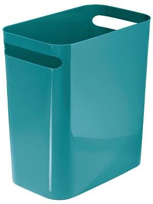 Una Waste Can Small Plastic Slim Trash Can Garbage Bin High
