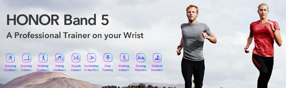 band 5 smartwatch