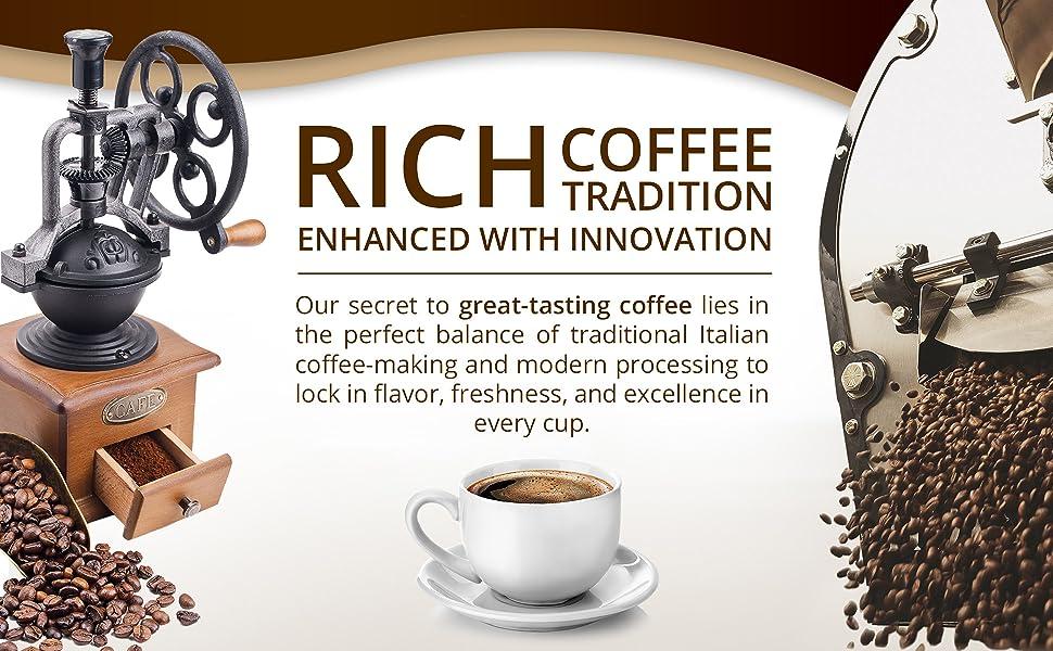 Espresso ground Coffee