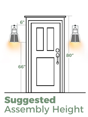 photocell wall sconce