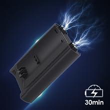 Homtiky Aspiradora sin Cable, 17000Pa Poderosa Succión LG Bateria Recargable Aspirador sin Cable, LED Brush 2 Velocidades 30 min Aspiradora Escoba para el Hogar, Duro Suelo, Alfombra: Amazon.es: Hogar