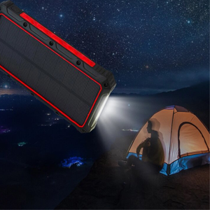 camping flashlight battery for emergency
