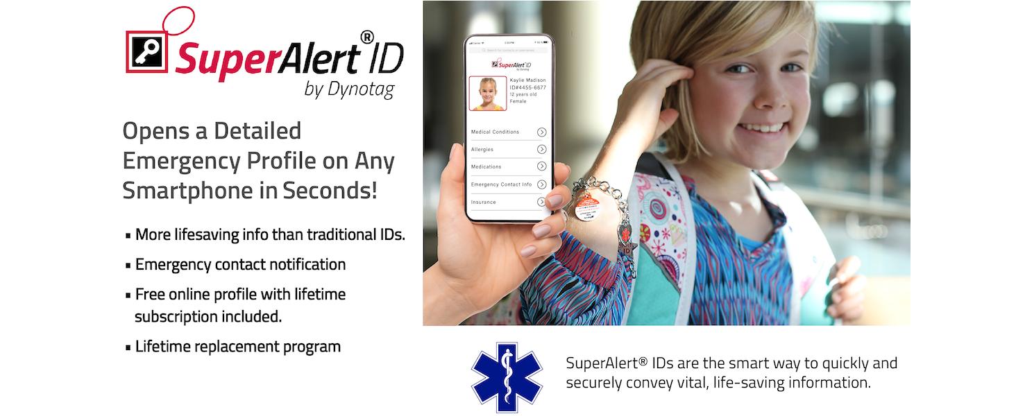 SuperAlert ID MedicalID EmergencyID MedID