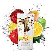 Mango Peppermint Green Tea Natural Energy and antioxidants