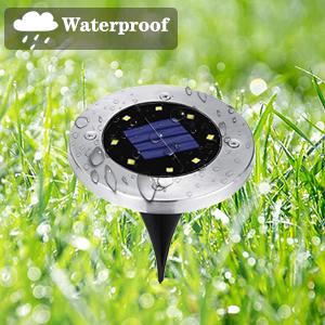 solar walkway lights waterproof