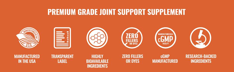 Premium Grade Joint Support Supplement