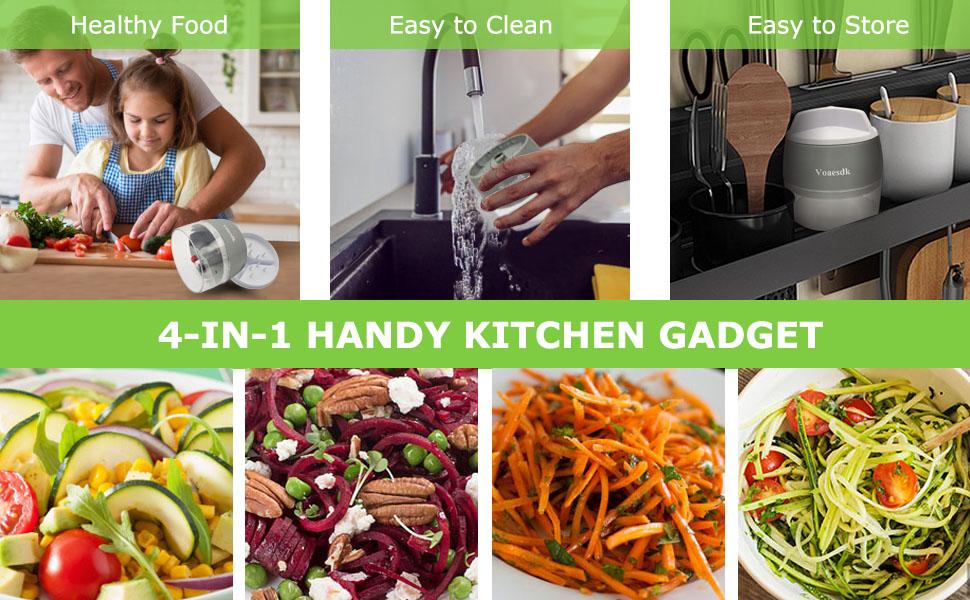 Vegetable Spiralizer Handheld