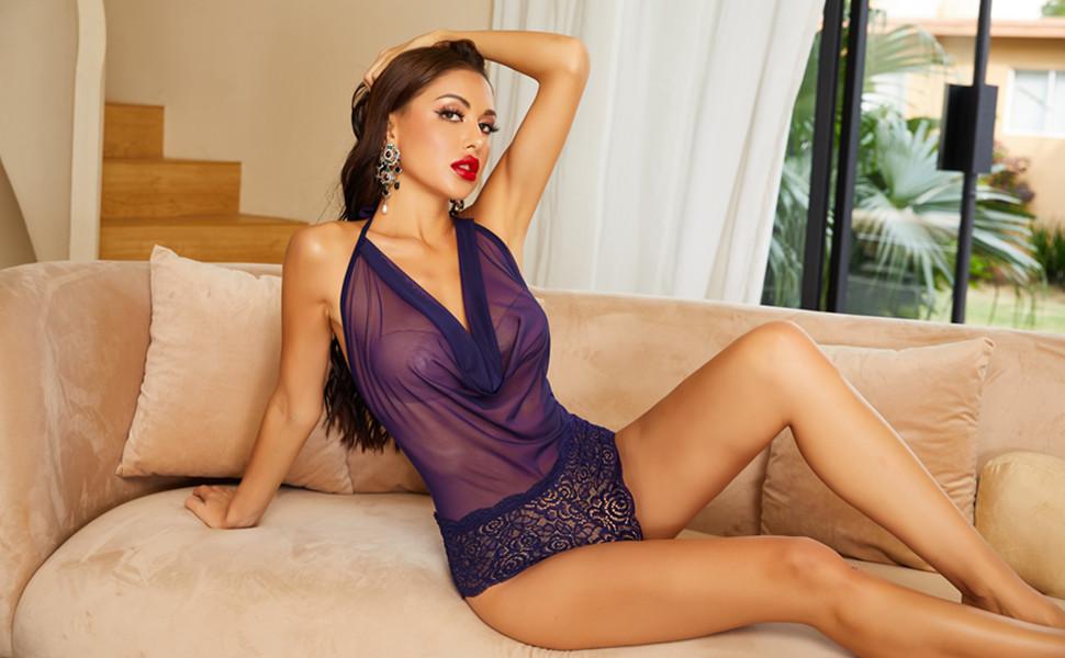 women one piece lingerie