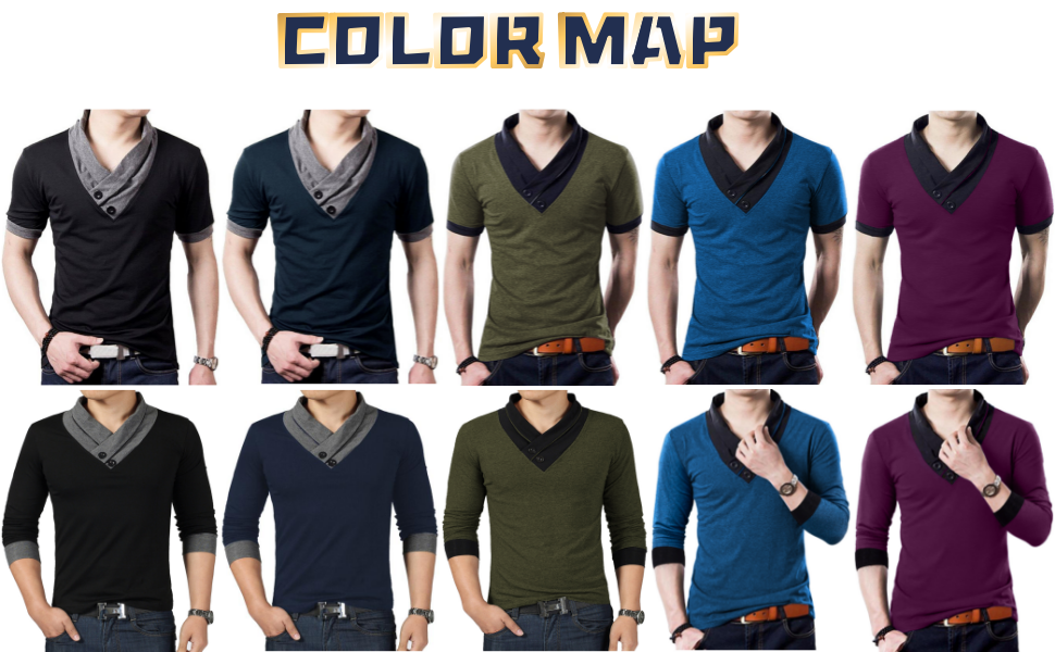 YTD mens t-shirts