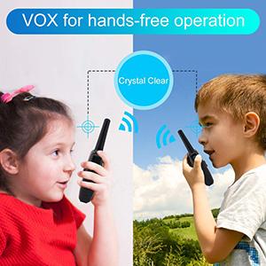 kids walkie talkies rechargeable
