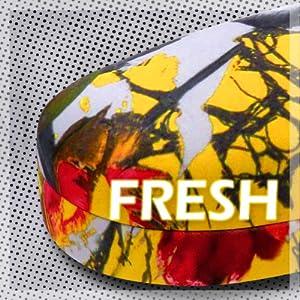 Yellow Tulip Floral hard sunglass case large eyeglass case hard shell glasses case large