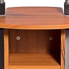 desk on wheels adjustable height