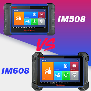Autel IM508 Diagnostic Scan Tool IMMO Functions Programming Tool Comparison with Autel IM608