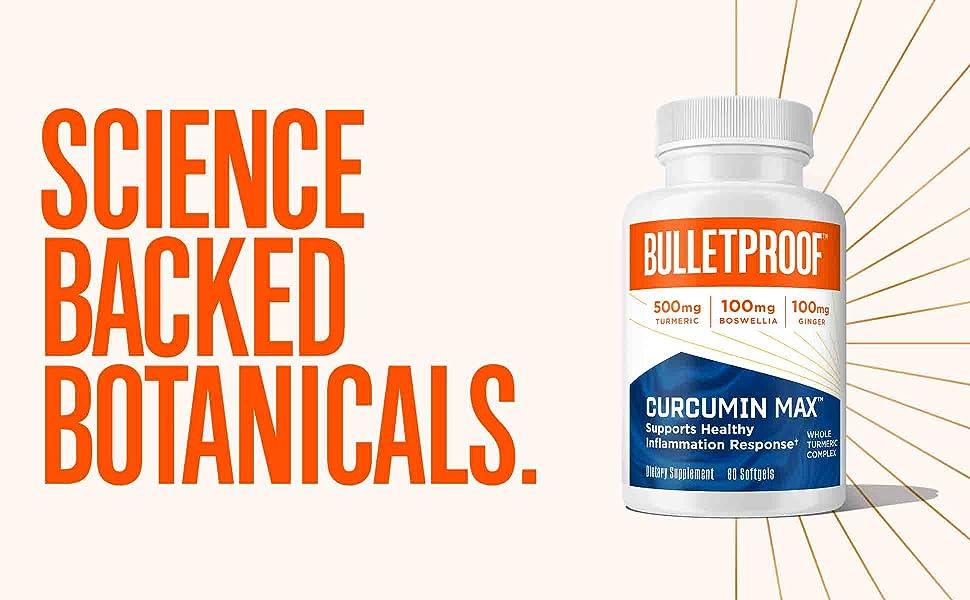 bulletproof mct curcumin tumeric inflammation