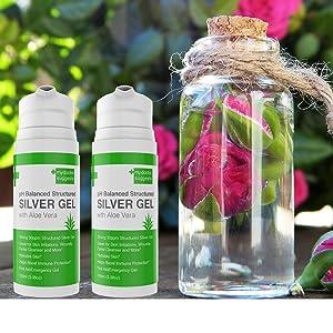 colloidal gel, silver gel