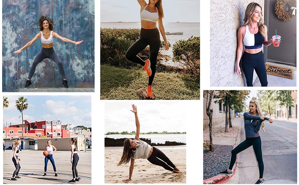 7 pack leggings for women