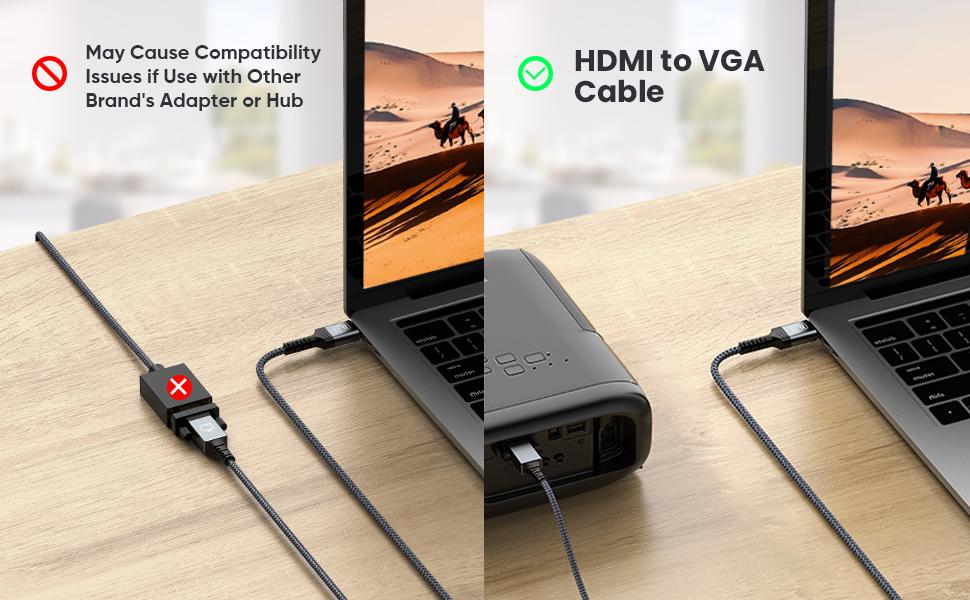 1080P HDMI to VGA
