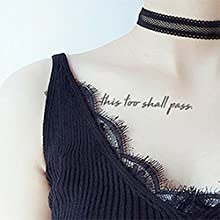 self recognize encouragement life girl power unique me temporary tattoos for women adult independent