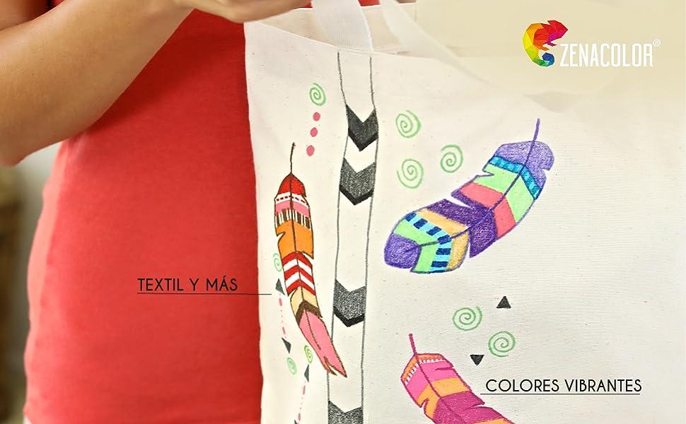 Fabric Markers Zenacolor
