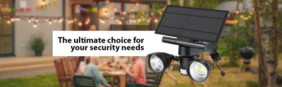 Arlo Ultra Pro Solar Panel Charger Floodlight