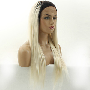 blonde synthetic lace front wig blonde ombre wig blonde ombre lace front wig