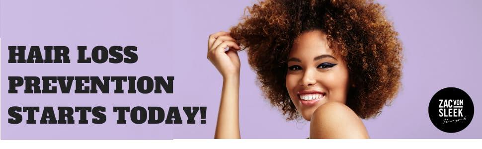 Hair and scalp Serum Zac Von Sleek Hair Loss prevention, Hair Growth