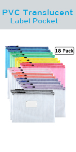 File Document Folders with Zipper
